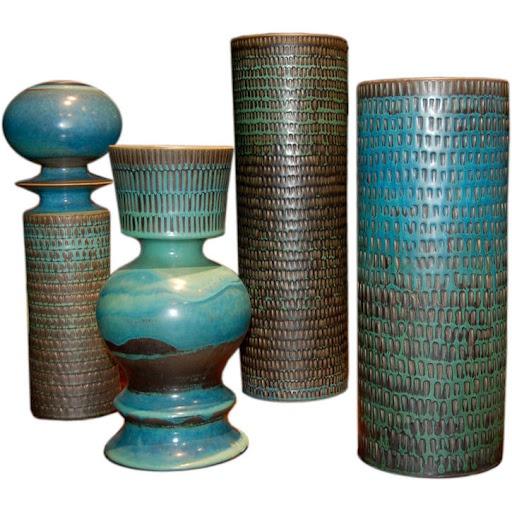 Stig Lindberg | Gustavsberg studio mid-century modern ceramicist