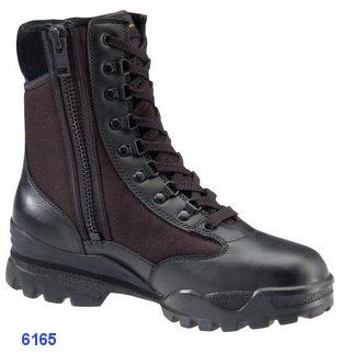 SWAT Boot With Side Zipper