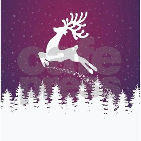 Christmas Reindeer Shower Curtains From Shop Enhance Your Bathroom Decor Or