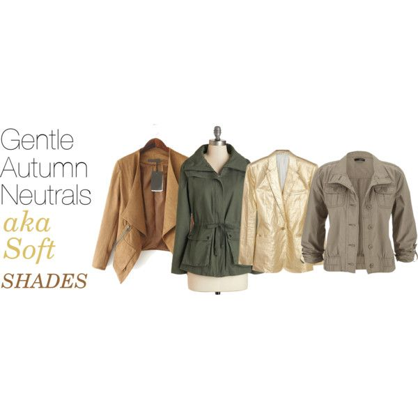 Soft Autumn Neutrals by expressingyourtruth on Polyvore ...