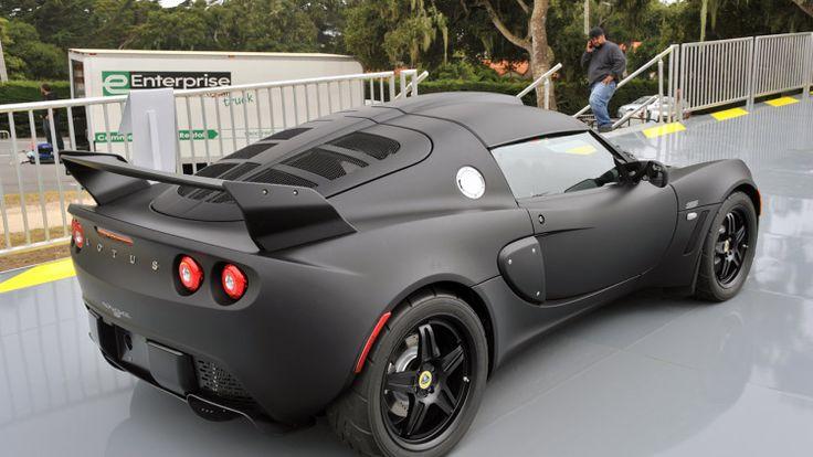 Lotus Exige still looking great in matte black - Imgur