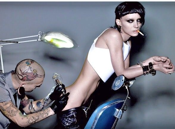 Rooney mara weight loss for dragon tattoo cool for Sex porn tattoo