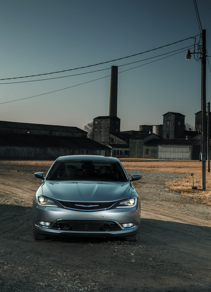 The 2015 Chrysler 200. One of the classiest cars on the road today. A fantastic mix of a luxurious interior and a stylish exterior.