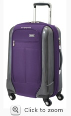 Ricardo Elite Crystal City lightweight wheeled suitcase review from @trekaroo.