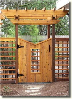 trying to replicate this gate in 8ft wide for my fence gate
