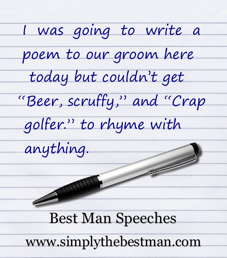 Quotes Jokes And Icebreakers For Your Wedding Speech From SimplytheBestMan Themarriedapp