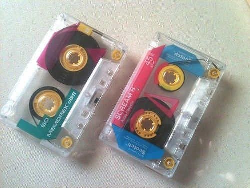 I used cassettes just like this to record music off of the radio. Ha!