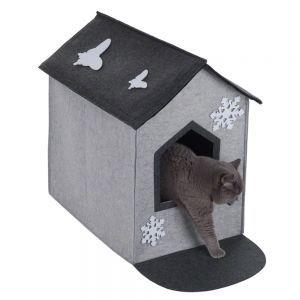 Nicchia per Gatti e Piccoli Cani #Nicchia #Casetta #Feltro #Gatti #Cani http://www.principini.it/prodotti/gatti/cucce-nicchie-gatti/nicchia-per-gatti-e-piccoli-cani