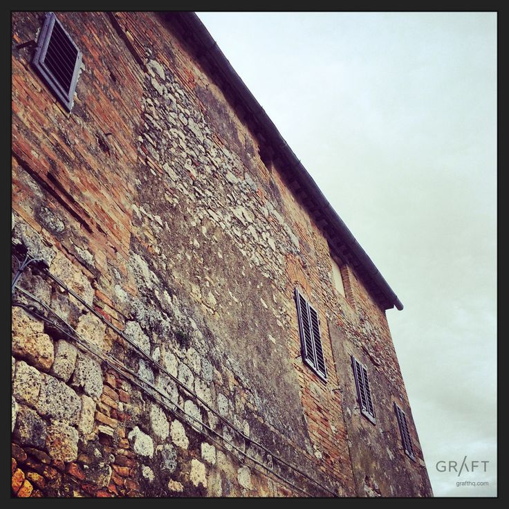 Rustic Beauty, San Gimignano Italy by Grafthq.com