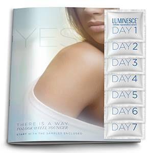 LUMINESCE™ Cellular Rejuvenation Serum 7-Day Sample Kit #InstantlyAgeless #Luminesce #CellularRejuvenationSerum #Free #Samples