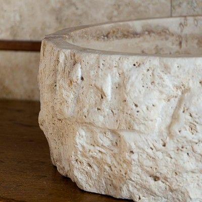 82 best Lavabi da bagno in pietra images on Pinterest | Travertine ...