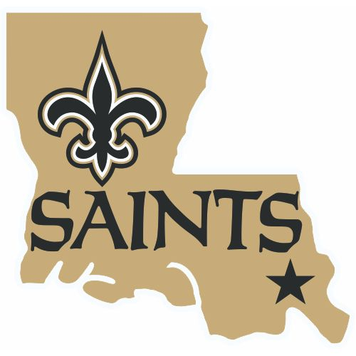 7 Best Images About New Orleans Saints Iron On Stickers