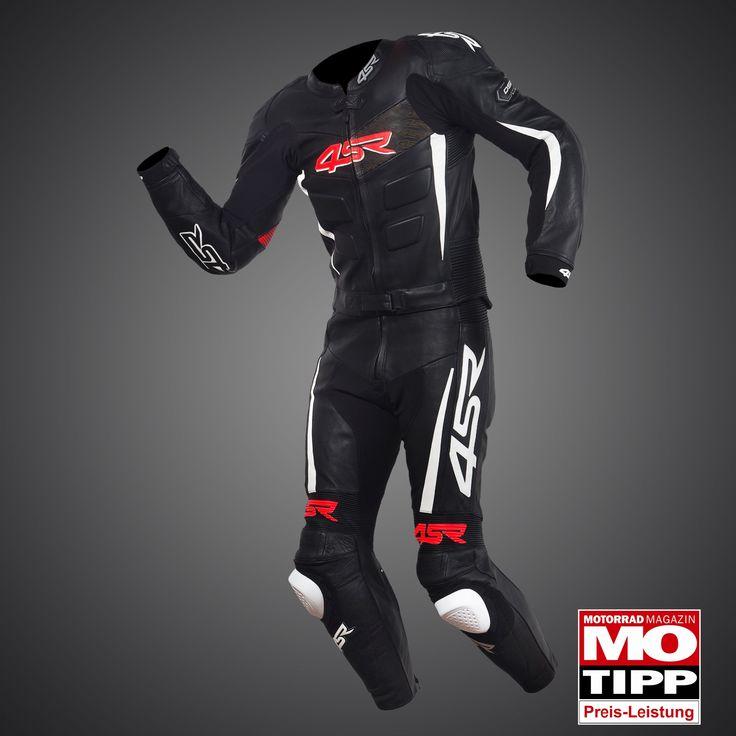 RR Edition Black - White Evo suit