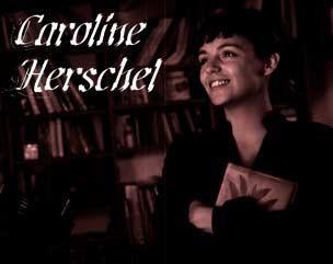 Paloma #Saavedra, alumna de la Escuela de Arte Dramático de Vigo protagoniza el papel de Caroline #Herschel