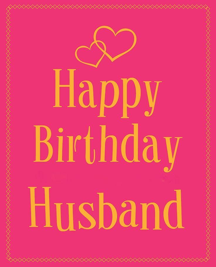 Happy Birthday Images For Husband: Happy Birthday - HUSBAND ™� WIFE