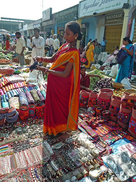 To Market (India). 'Whether you're in the market for some  serious souvenirs or simply looking for an  injection of local life, Goa's manifold markets  won't fail to please. Head to Mapusa for its  mammoth Friday market day, where  you'll find fresh produ