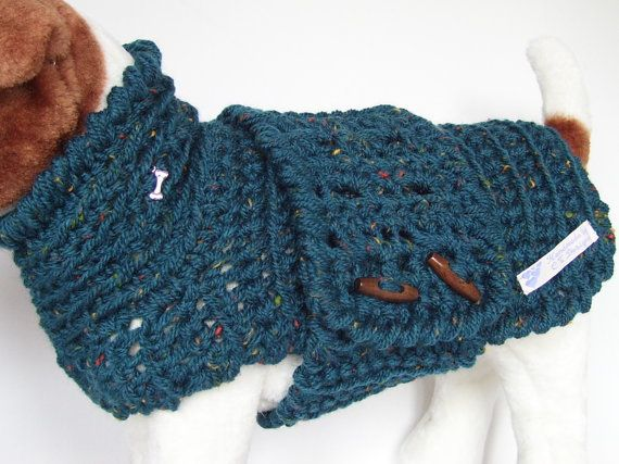 Small Dog Sweater Small Dog Clothes by CTDESIGNSBESPOKEBAGS