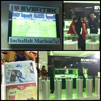 A l'occasion de la CAN 2012, Evertek met en place des Stands qui permettent de suivre en direct les matchs de notre équipe Nationale !