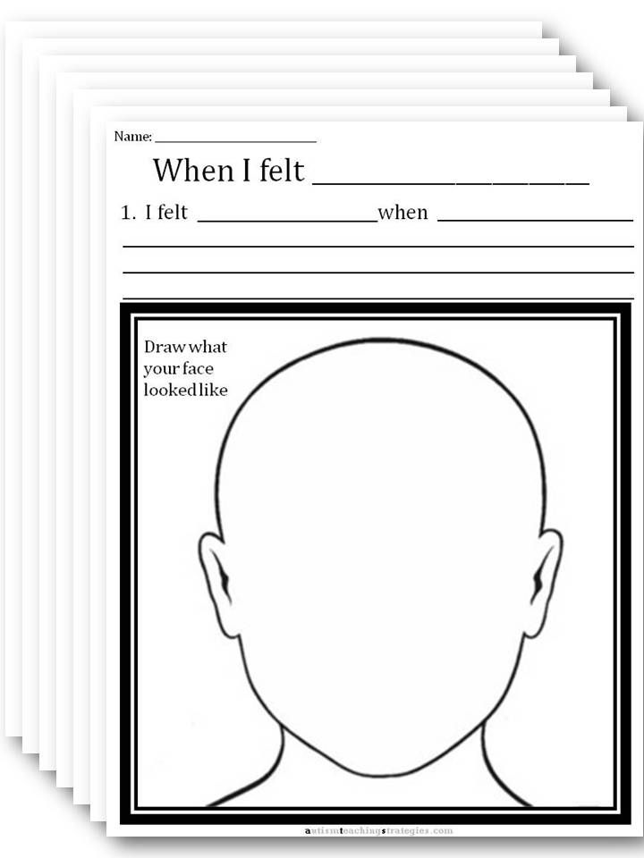 CBT Worksheet, select an emotion | Psych Resources ...