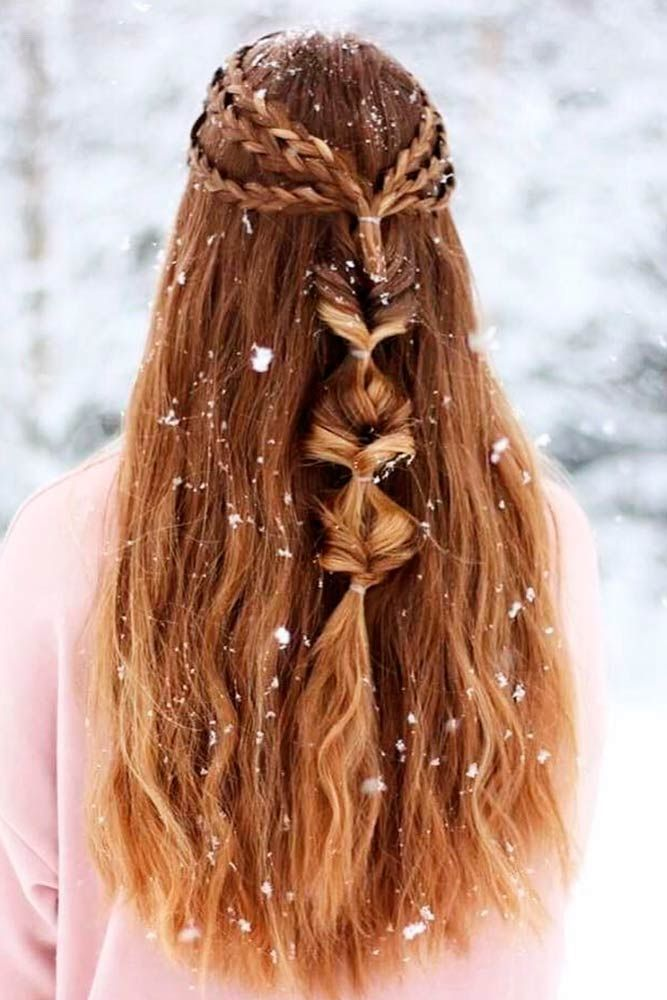 43 Charming Long Curly Hairstyle Inspirations Ideas – #charming #curly #hairstyl…