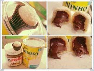Doce de Leite Ninho com Nutella