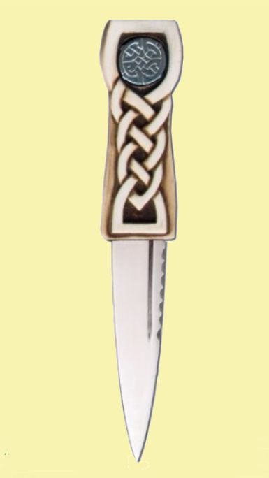 For Everything Genealogy - Celtic Disc Detail Knotwork Handle Leather Sheath Sgian Dubh, $90.00 (https://www.foreverythinggenealogy.com.au/celtic-disc-detail-knotwork-handle-leather-sheath-sgian-dubh/)