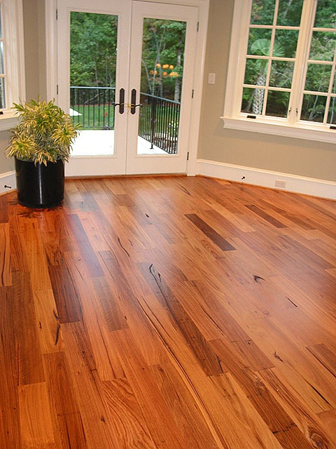 love wormy chestnut floors.