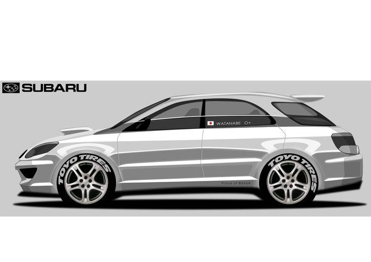 Subaru WRX SW - Akira Watanabe