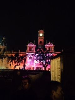 Ayuntamiento de Valencia durante la fiesta de fin de año 2015. #adios2015 #valencia #Navidad2015