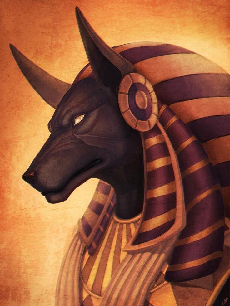 Anubis Fanart by CherChen