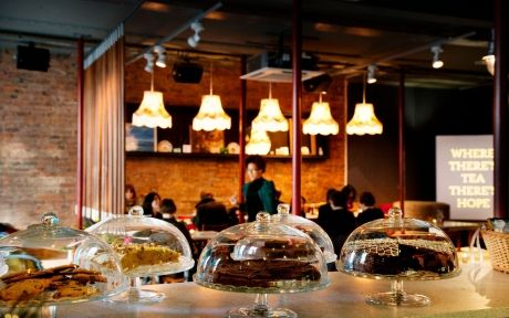 @Leafteashop Check out this award winning venue in #Liverpool  #Glutenfree menus include afternoon tea! #coeliac