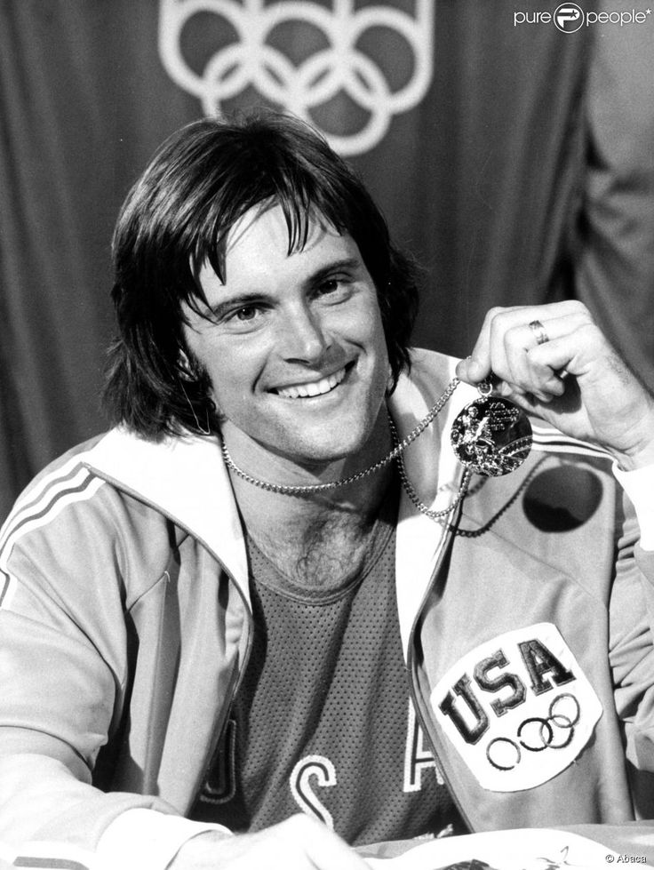 Bruce Jenner lors des Jeux Olympiques de Montréal, en juillet 1976.