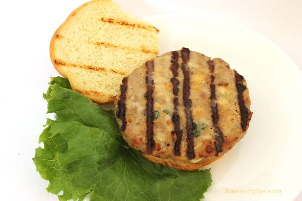 Might try this recipe for the best turkey burger recipe ever from Happiness is Homemade.