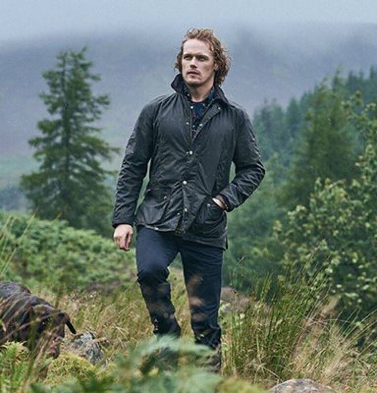 ♡ All you need is Love ♡ : Photo Sam Heughan for Barbour