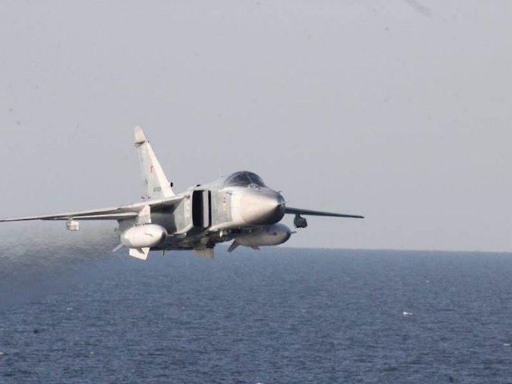 Vídeo: Su-24 russo passa a pouco metros de navio da Marinha americana