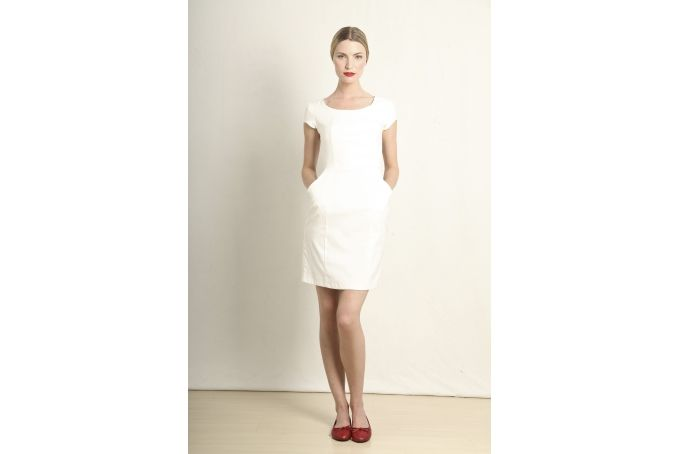 Ana dress white by Georgie.B