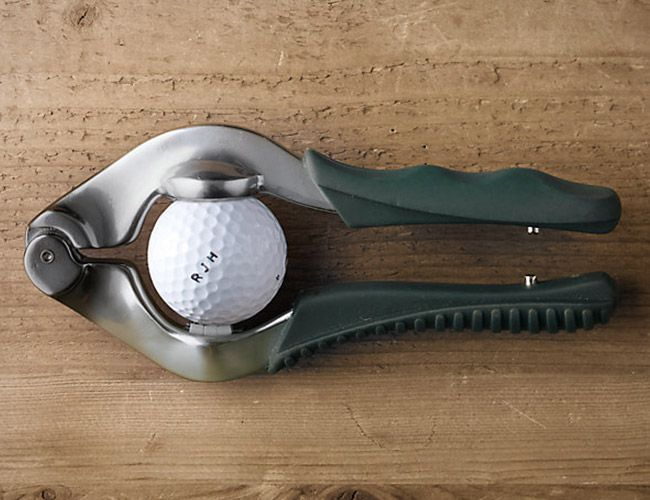 Restoration Hardware Golf Ball Personalizer    This is the perfect gift for any golf lover!