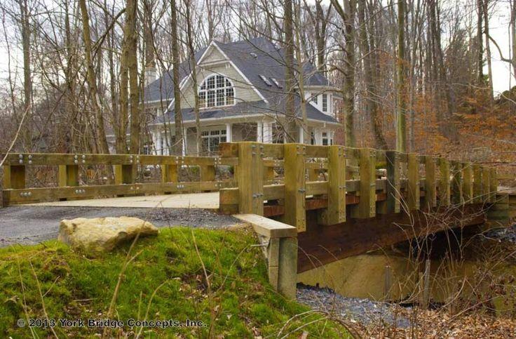 Driveway bridge design woodworking projects plans