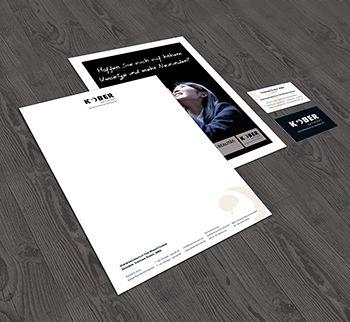 Stephan Kober Visitenkarten und Briefpapier