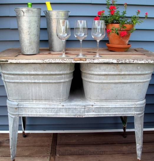 Washing Tubs From The Past ~ Best images about galvanized on pinterest