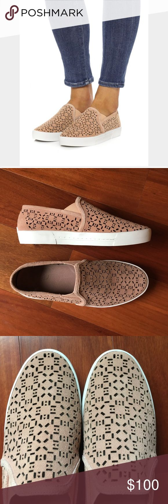 NWT Joie sneakers NWT Joie Huxley laser cut suede sneakers in clay. Never been worn. Box included. EU size 38= 7.5-8 Joie Shoes Sneakers