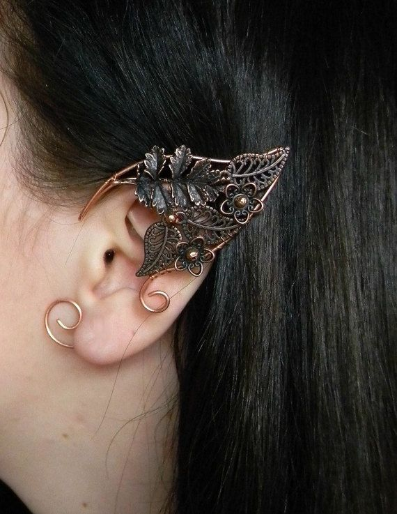How cool are these elf ears! I just might need to turn 40 in these!!  https://www.etsy.com/uk/listing/242376169/elven-ears-a-pairelf-earringsno-piercing