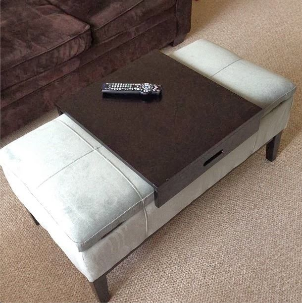 Ottoman Coffee Table Color Combination And Renovation