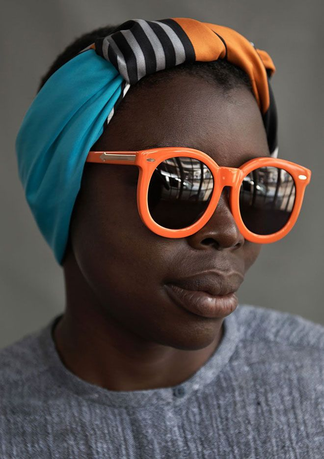 Karen Walker x Ethical Fashion Initiative -  cute idea
