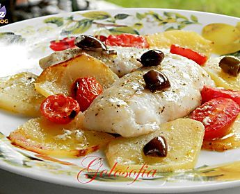 Filetti di merluzzo alla mediterranea-ricetta gustosa