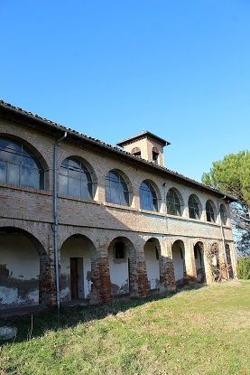 One thousand years old monastery, Mordano,Italy