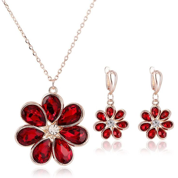 Find More Jewelry Sets Information about Flower Earing And Statement Necklace Sets Bijouterie for Women Austrian Crystal Bijoux Nigerian De Mariage Silver Jewelry JS0104,High Quality necklace type,China necklace m Suppliers, Cheap necklace glass from ULove Fashion Jewelry Store on