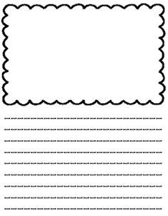 Blank writing paper online space