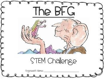 The BFG by Roald Dahl - STEM Challenge                                                                                                                                                     More
