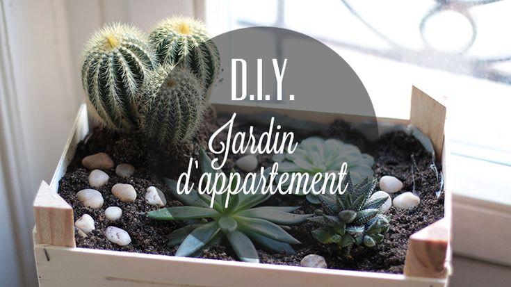 {D.I.Y.} Un jardin d'appartement dans une cagette